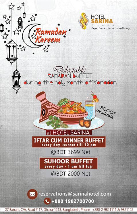 Ramadan Restaurant Guide Dhaka 2019- Best Iftar and Sehri Deals